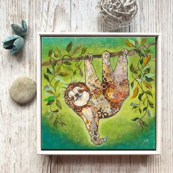 "Hang in There - 6"" Ceramic Print"