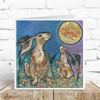 Moongazers - Hare Card