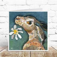Flower - Hare Card