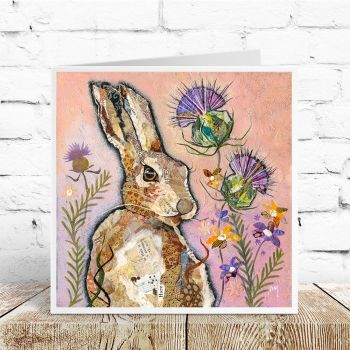 Hare & Thistle Card