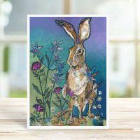 Sitting Pretty - Hare Card