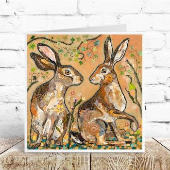 Hare's Looking at You - Card