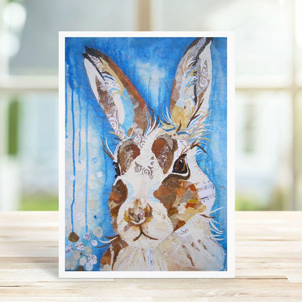 Mountain Hare - Card
