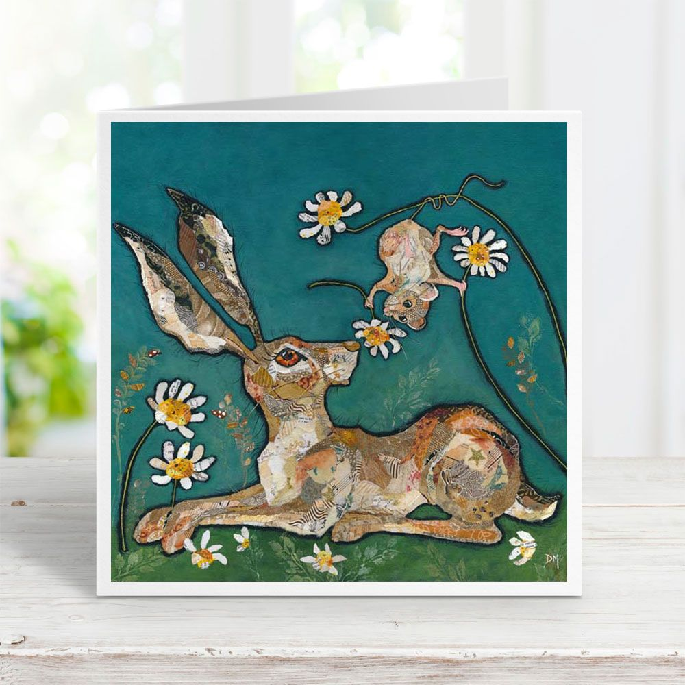 For You - Hare & Mouse Card