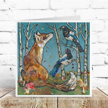 The Gift - Fox & Magpie Card