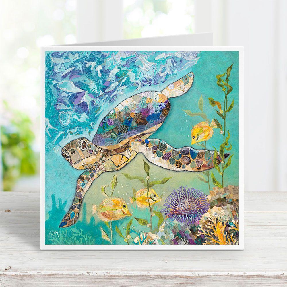 Coral Patrol - Sea Turtle Card