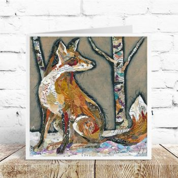 Who's There? - Fox Card