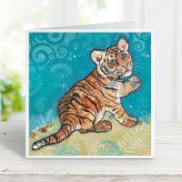 Topaz - Tiger Cub Card