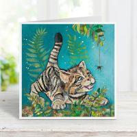 Wild Thing - Scottish Wildcat Card