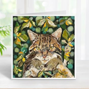 Scottish Wildcat Card