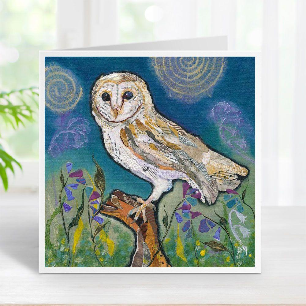 Barn Owl - Card