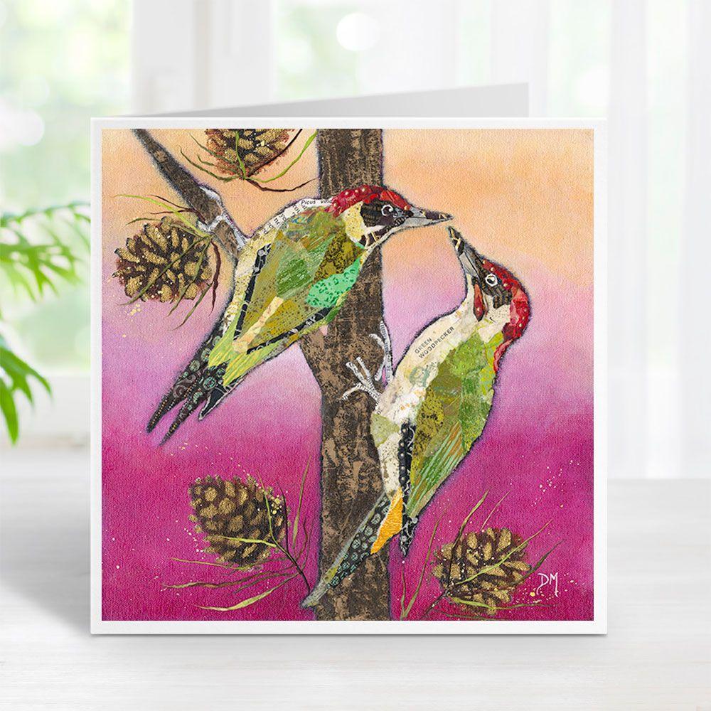 Knock Knock - Woodpecker Card