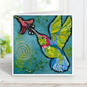 Hummingbird 3 - Card