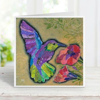 Hummingbird I - Card