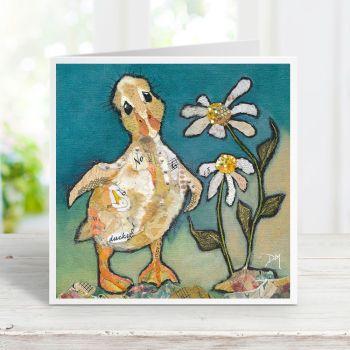 Where's Mum?' Duckling Card