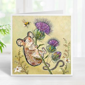 First to the Top - Mouse & Thistle Card