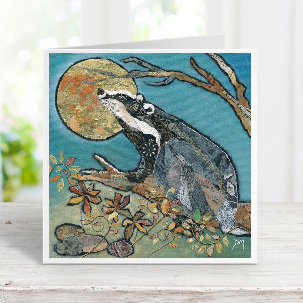 Badger's Moonwish Card