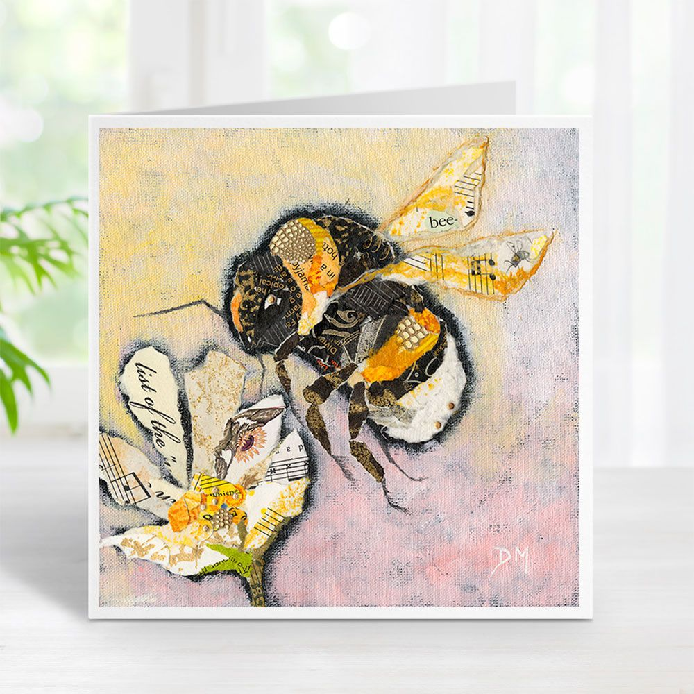 Buzz - Bumble Bee Card