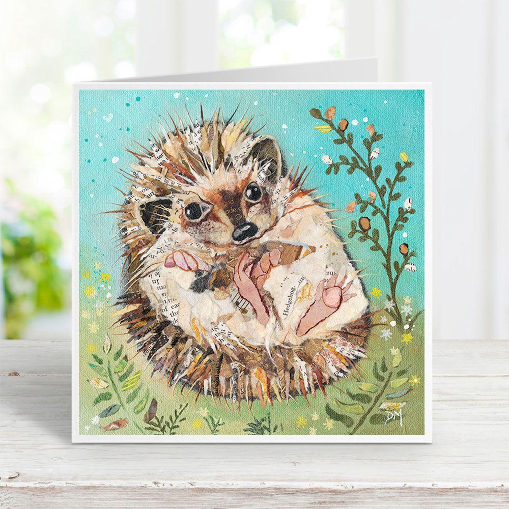 Fern - Hedgehog Card