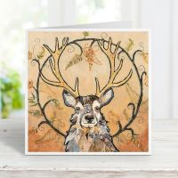 Golden Monarch - Stag Card