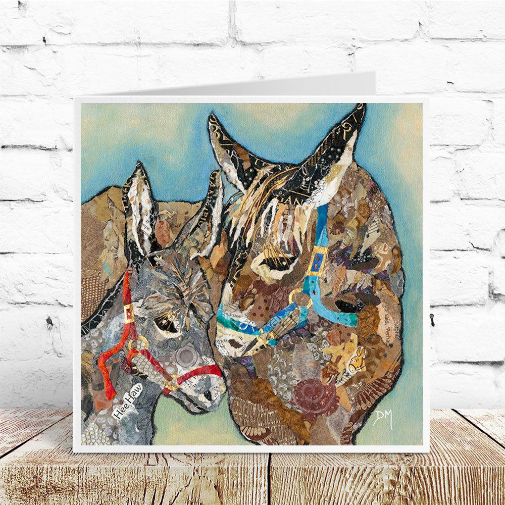 Hee Haw - Donkey Card