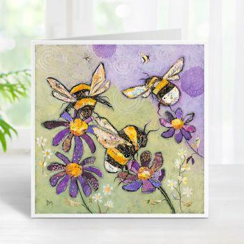 Humble Bumbles - Bumble Bees Card