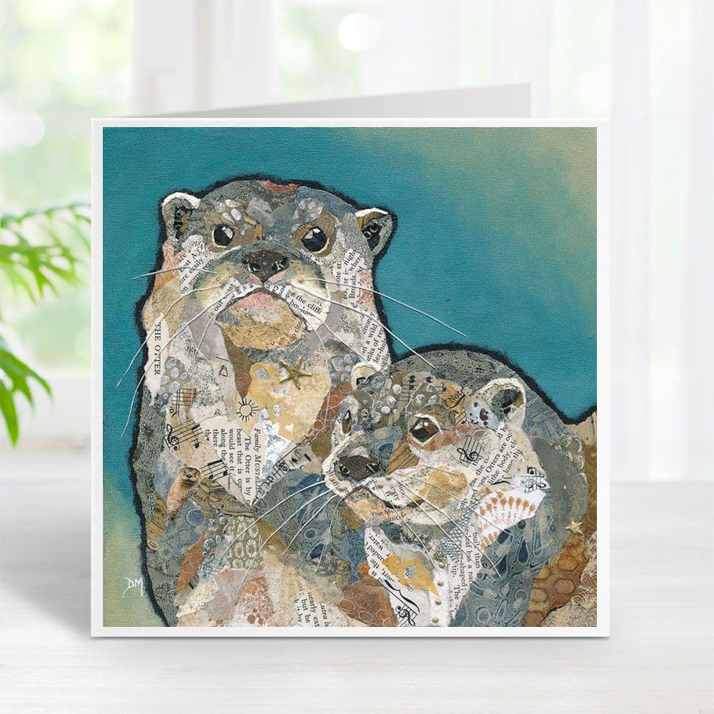 Oscar & Otty - Otters Card