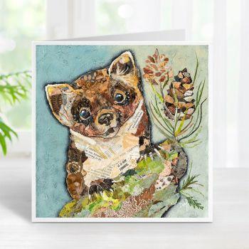 Pip Pine Marten Card