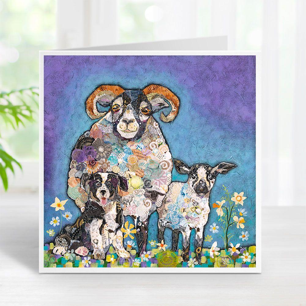 Ram-a-Lamb a Ding Dong - Sheep Card