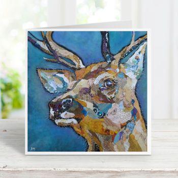 Red Deer Buck II - Stag Card