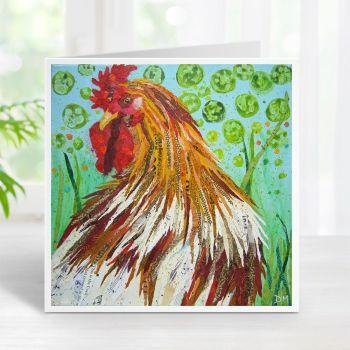 Rise 'n' Shine - Cockerel Card