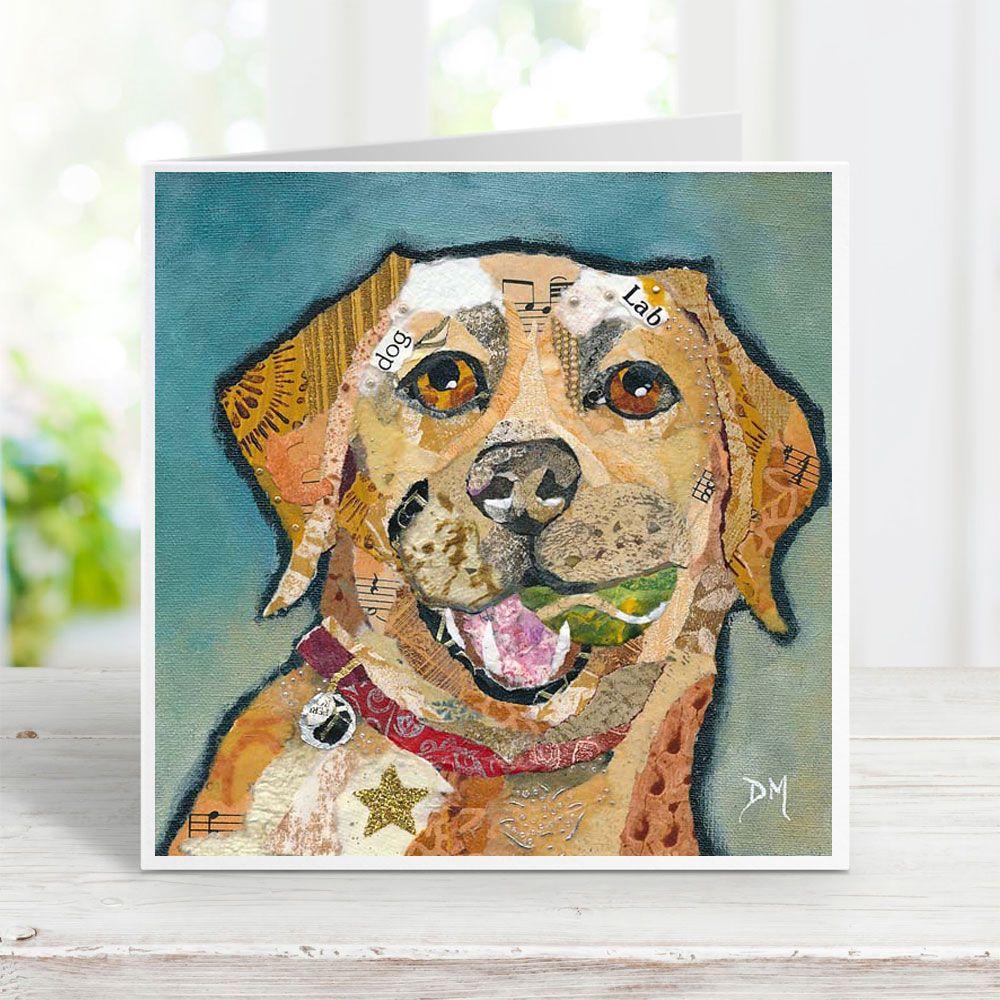 Barney - Labrador Dog Card