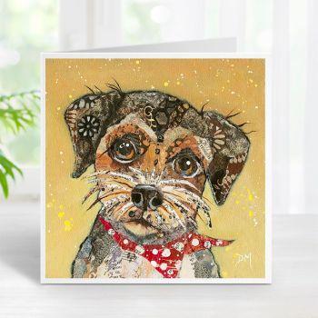 Border Terrier - Dog Card