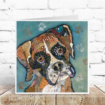 Bruno - Boxer Dog Card