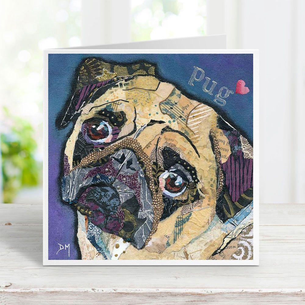Pug Love - Card