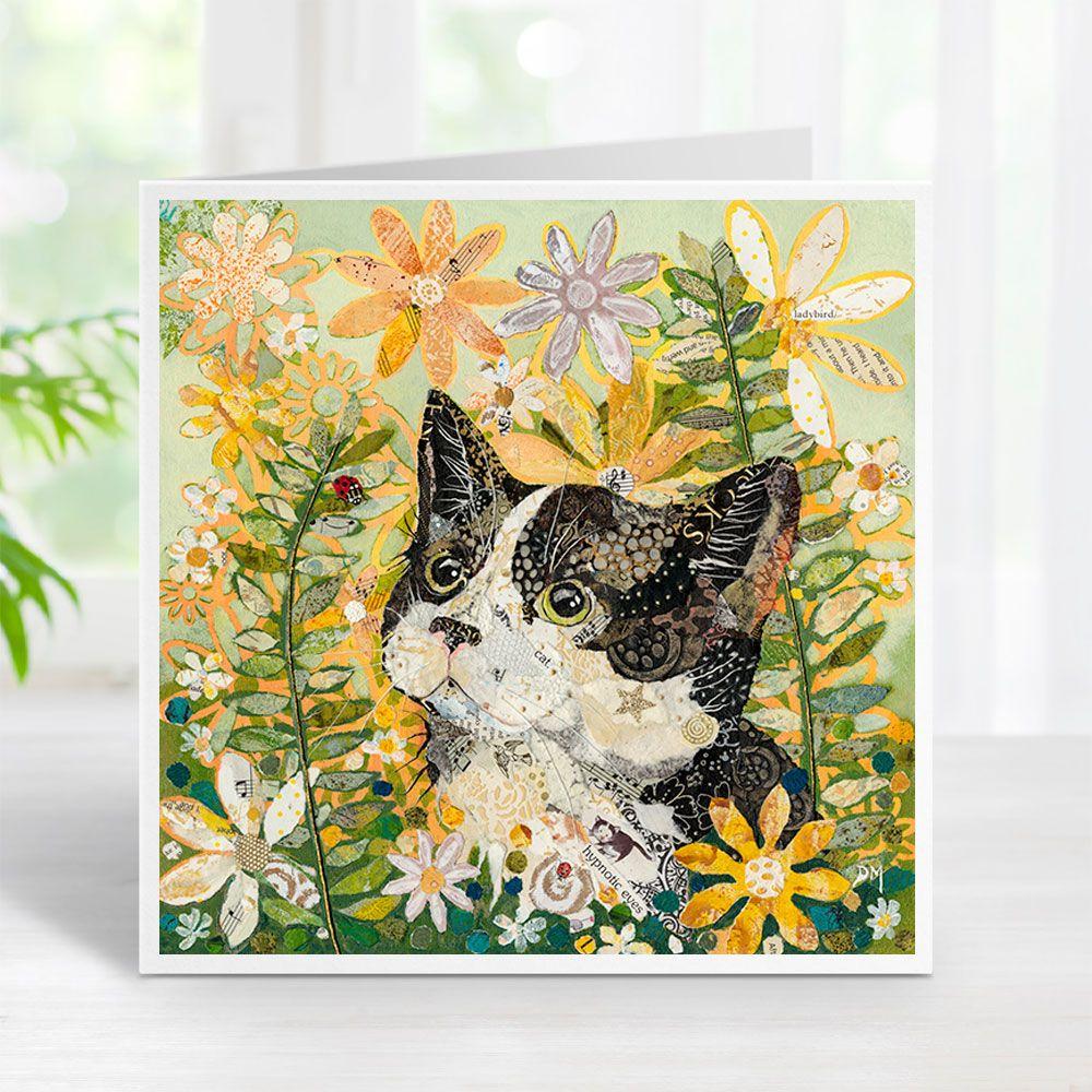 Wot a Lovely Ladybug - Cat Card
