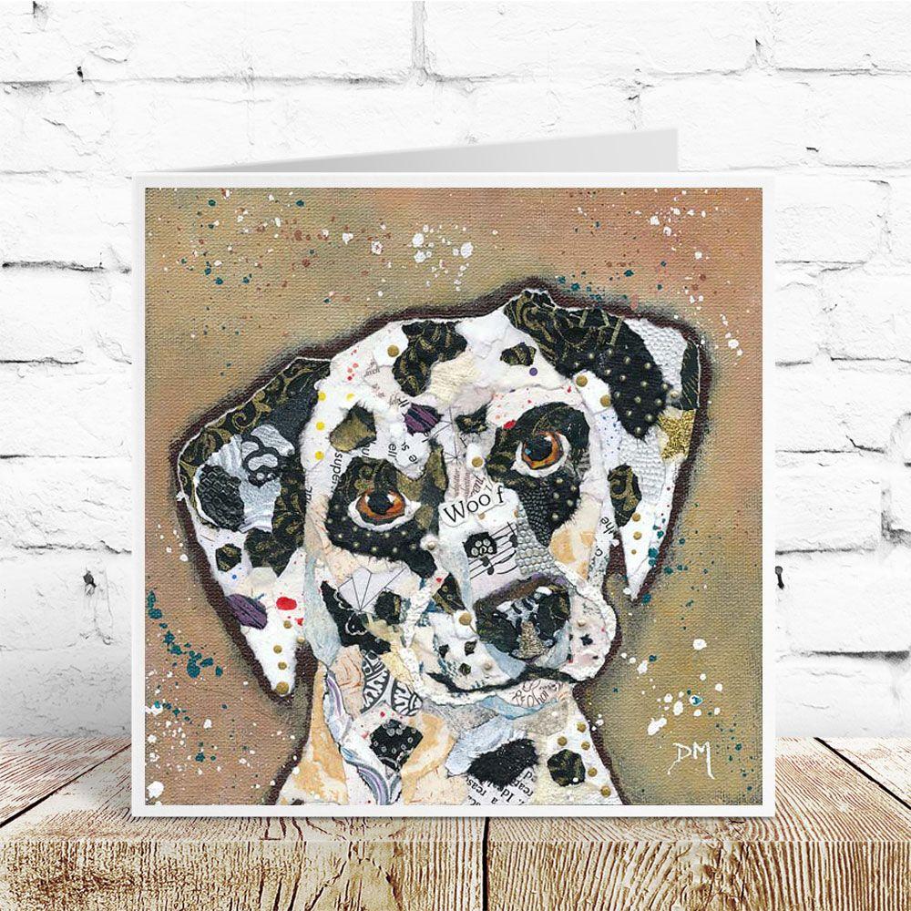Woof - Dalmation Dog Card