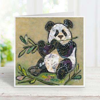 Bamboo Panda Card