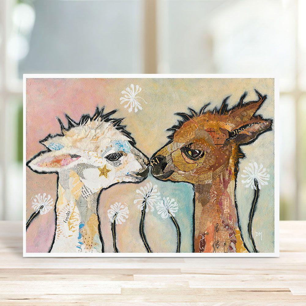 Frodo & Icerus - Alpaca Card