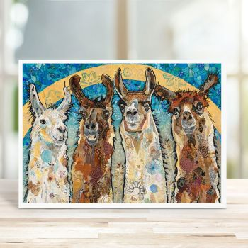 The Golden Boys - Lllama Card