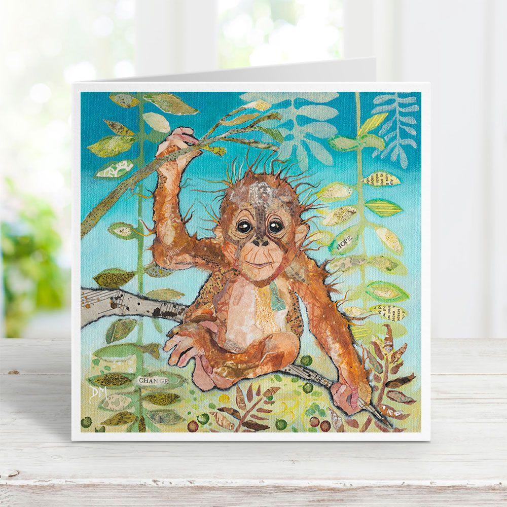 Ubah - Orangutan Card