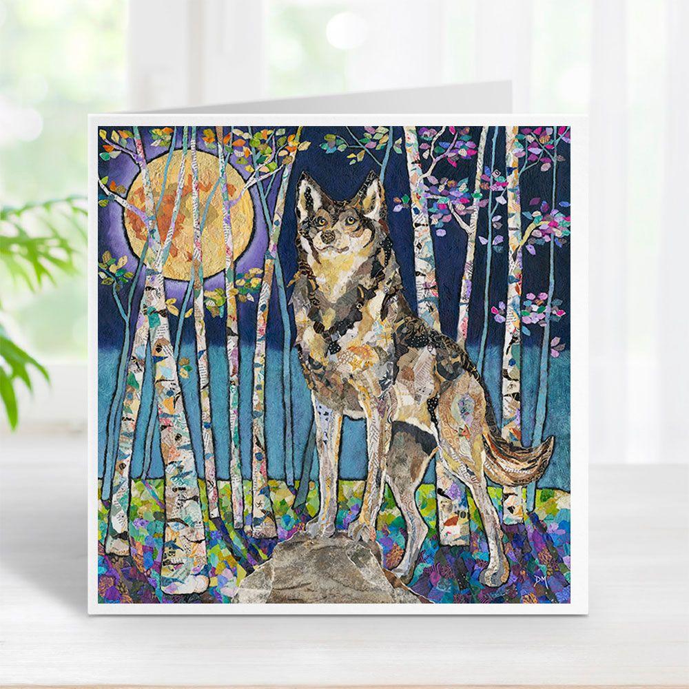 Moon Guardian - Wolf Card