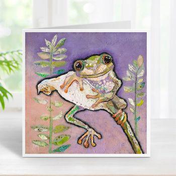 Rippit - Tree Frog Card