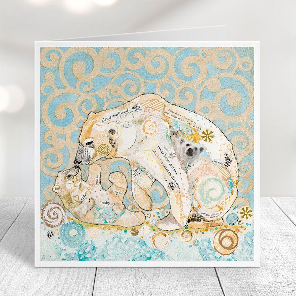 Polar Kiss - Polar Bear Card