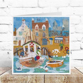 Fish 'n' Ale Greetings Card