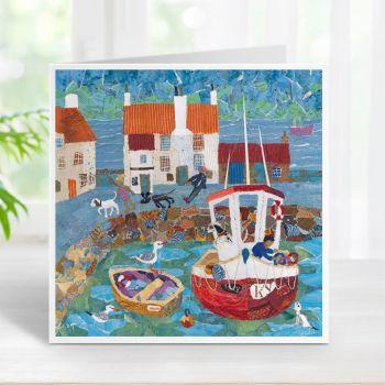 Pittenweem Sea Dogs - Card