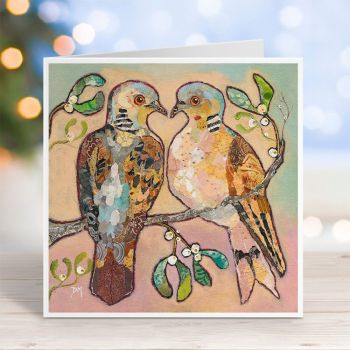 Two Turtle Doves - Card