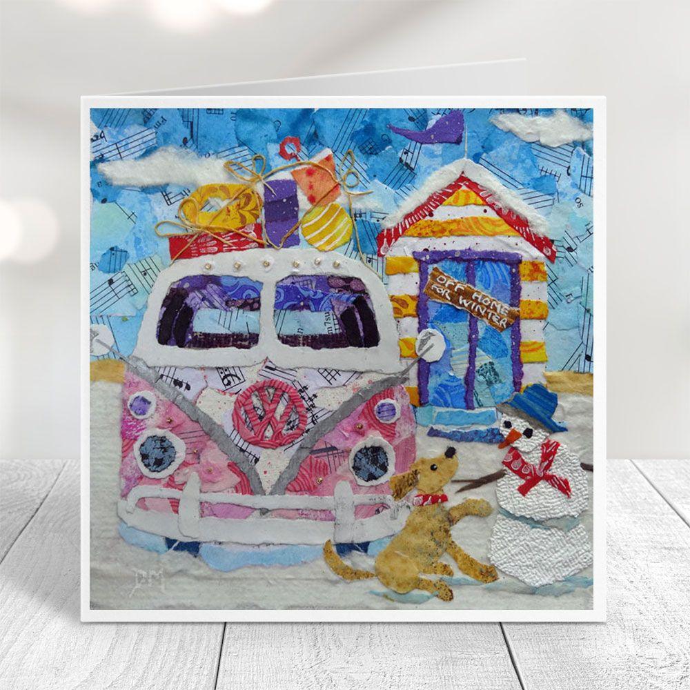 Off Home for Winter -  Campervan Card