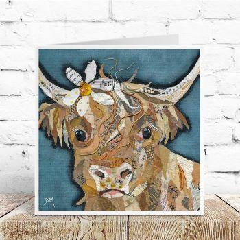 Florrie - Highland Cow Card