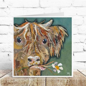 Hamish - Highland Cow Card